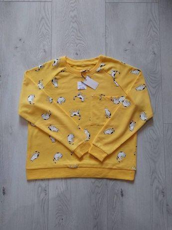 damska bluza marki Fisherfield roz L w koty