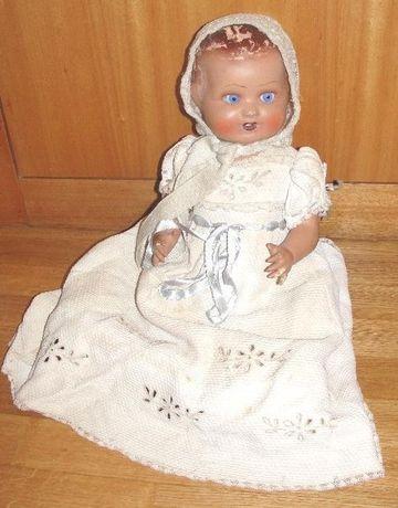 Antigo boneco bébé anos 40/50? com +/- 50cm de altura