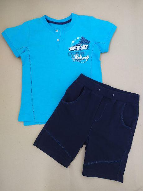 Футболка шорты мальчику 5-6 лет