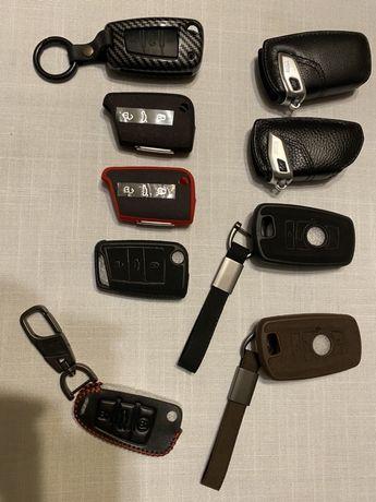 Etui do kluczyka samochodowego BMW SEAT SKODA VW VOLKSWAGEN