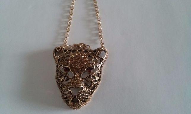 Elegancki naszyjnik z kotem
