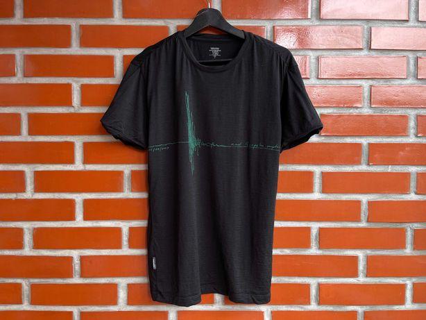 Icebreaker Merino Wool мужская термо футболка меринос размер S