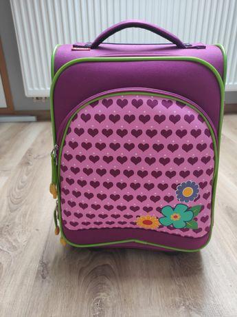 Torba, walizka podróżna dla dziewczynki