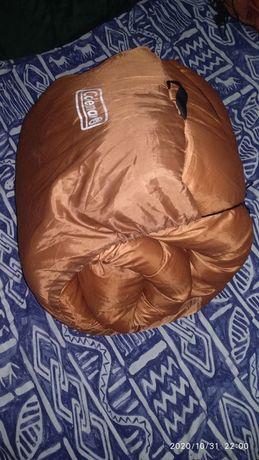 Американський ЗИМОВИЙ спальний мішок Coleman 200см на 95см