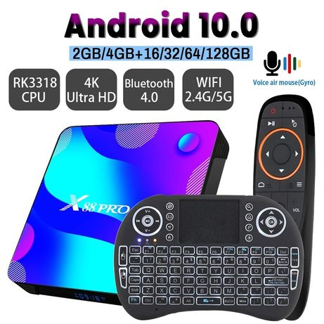 Novo lacrado TV box X88 PRO Android 11 - PORTES GRATIS