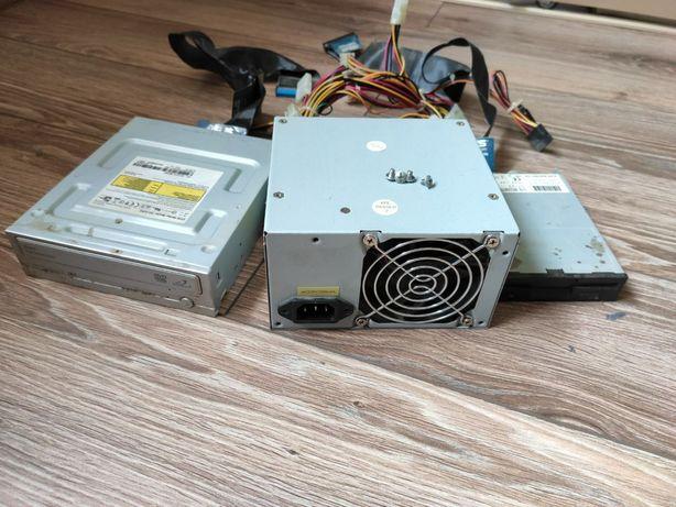 Блок живлення 380W, дисковод, флопик