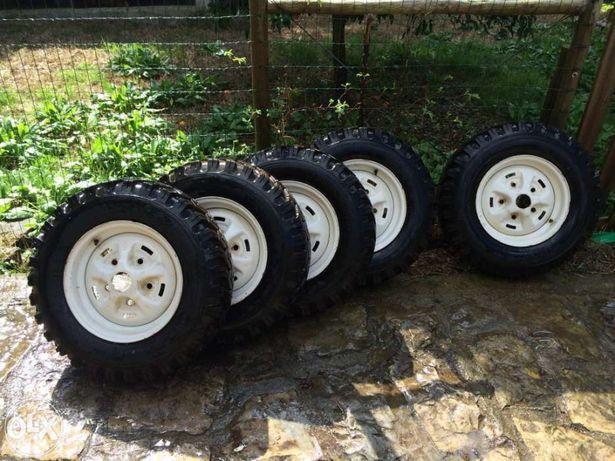 Conjunto rodas Land Rover x5