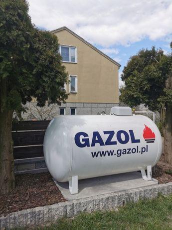 Zbiornik na gaz płynny V-2700 litrów