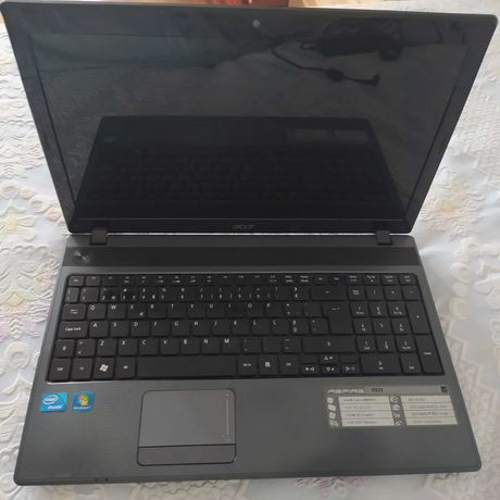 Portátil Acer Aspire 5333 original 640gb HDD 4gb RAM Wifi, a funcionar