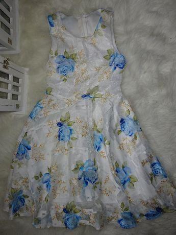 Sukienka dziewczęca 134-140r