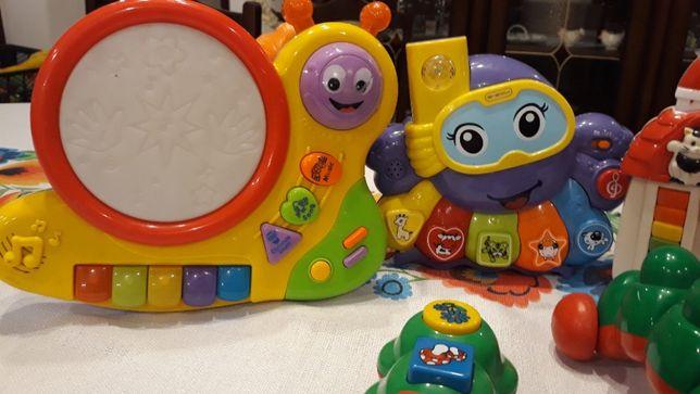 Zabawki grające interaktywne