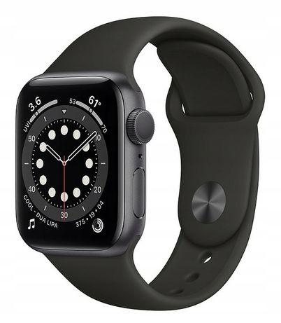 NOWY (folia) Smartwatch Apple Watch Series 6/44mm czarny, gray