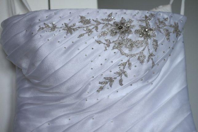 Suknia Ślubna + dodatki w zestawie rozmiar 36