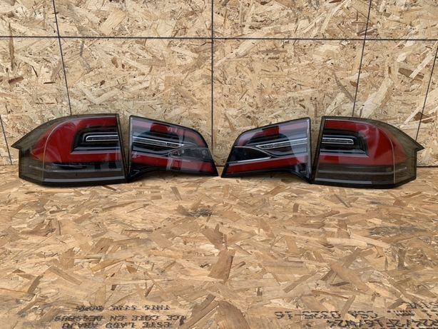 Tesla S X 3 фари фонари запчасти тесла