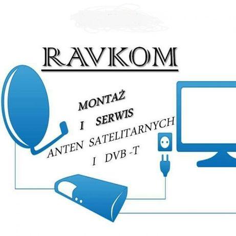 Montaż Ustawianie Serwis Anten Satelitarnych, DVBT - TV Naziemna
