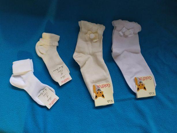 Lote de meias de criança menina novas