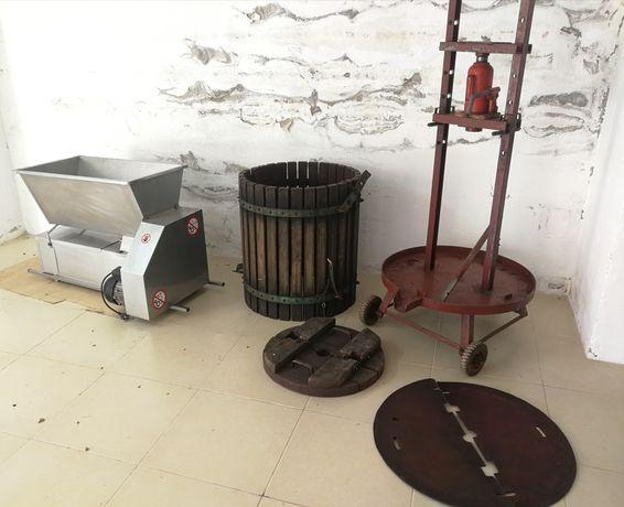 Esmagador elétrico e prensa