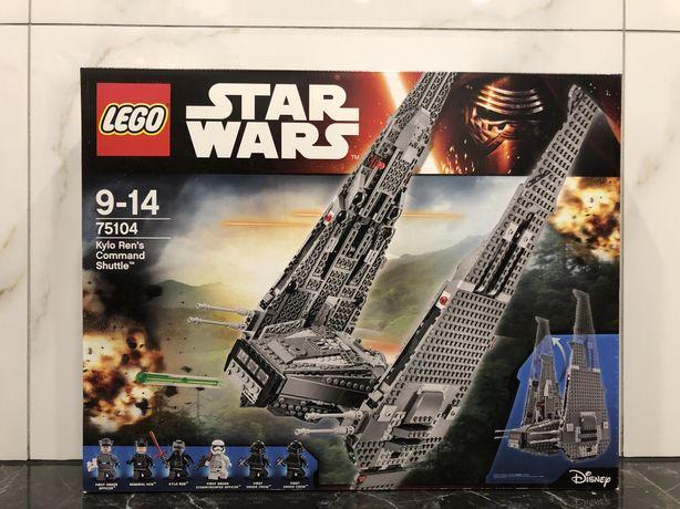 Конструктор LEGO Star Wars Командный шаттл Кайло Рен (75104) Наявність