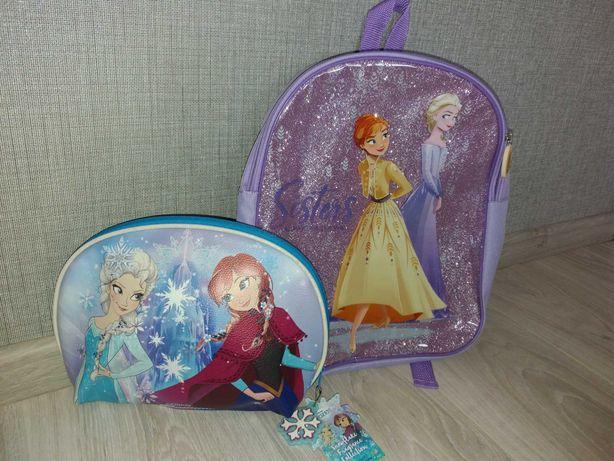 Рюкзак холодне серце для девочки