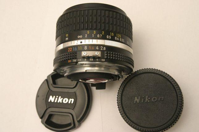 Lente Nikon 24mm F2.8 lens AIS