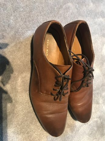 buty zara skórka 40