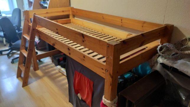 Кровать детская деревяная под матрац 2000*900
