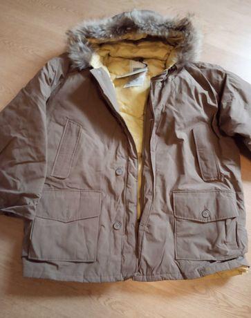 Зимова чоловіча куртка великого розміру