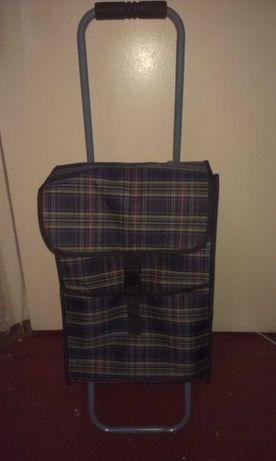 Сумка тележка багажная