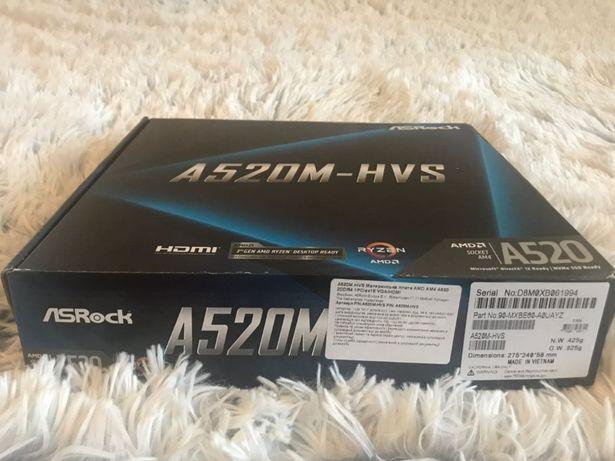 Материнская плата ASRock A520M-HVS