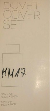Zestaw poscieli H&M