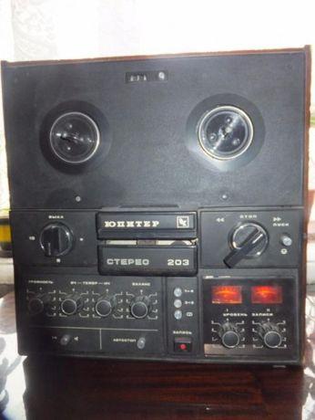Бабинный магнитофон Юпитер 203
