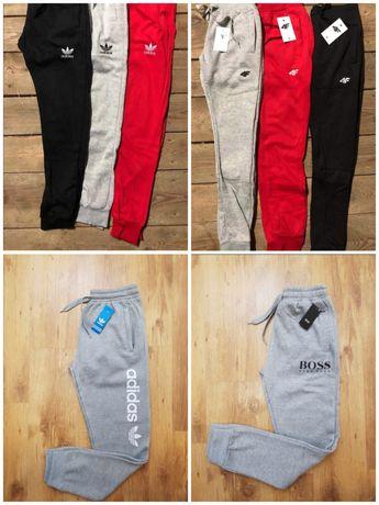 Promocja Spodnie dresowe Adidas, Hugo Boss 55zl M, L, XL, XXL zaprasza