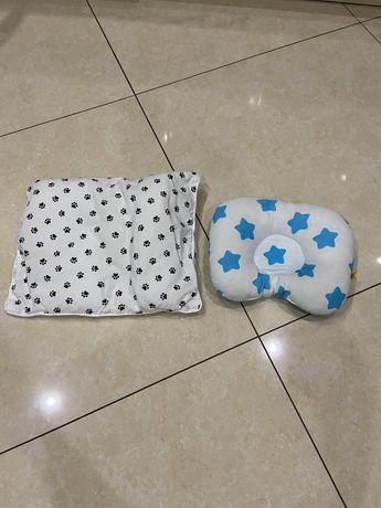 Детские подушки,матрас в коляску