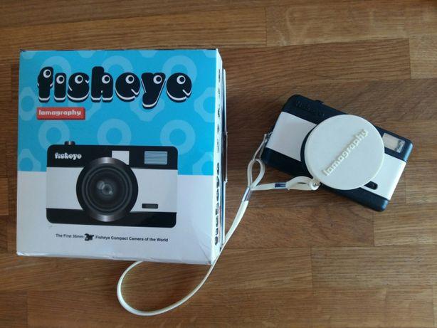 Fisheye lomo aparat analogowy 35mm klisza lomografia