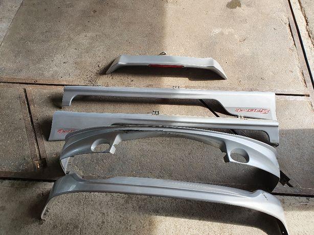 Spojler nakładka zderzaka _ nakładka progu _ Honda Civic VII 3D Type R