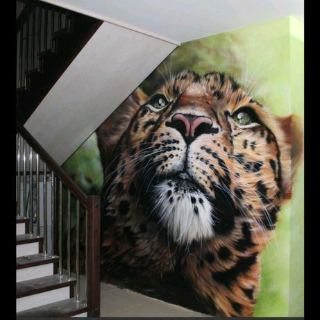 Покраска и художественная роспись