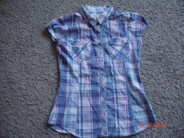 H&M Bluzka dziewczęca - koszula _ kratka _158