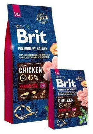 BRIT karma dla psów Senior 15kg
