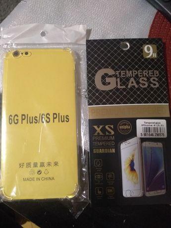 Etui Shock case + szkło hartowane iPhone 6 g plus/ 6s plus