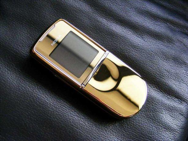 Nokia 8800 Sirocco Gold (18k złoto, oryginał, telefon komórkowy)