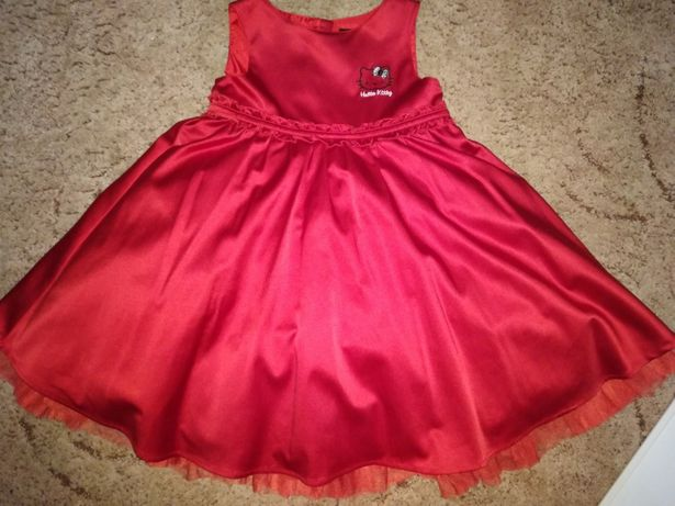 Платье атласное H&M (р.110, 4-5лет)