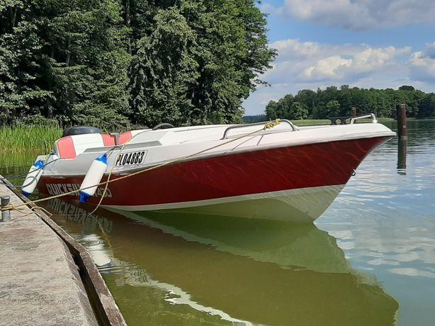 Łódz motorowa wędkarska zamiana na skuter