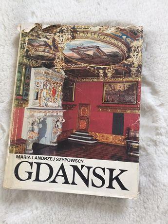 """Książka, album """"Gdańsk"""" M.A. Szypowscy"""