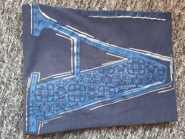 Bluzka Reserved, granat, długi rękaw