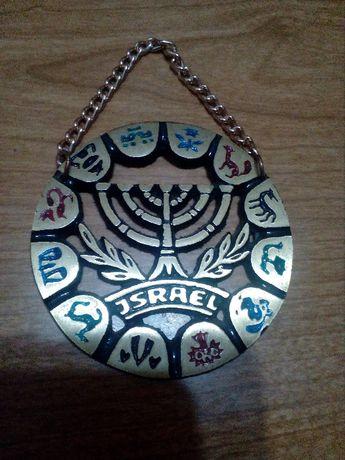 Талисман. Израиль. Винтаж. Медаль. Гороскоп. Оберег.Медь. Минора
