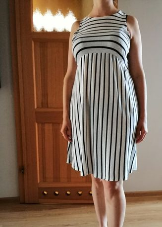 Przewiewna sukienka ciążowa