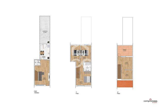 Moradia unifamiliar T3+1, com logradouro, sótão, terraço e garagem | Q