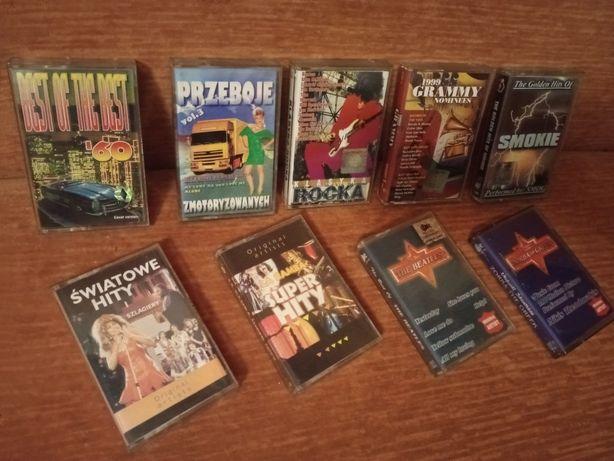 Kasety magnetofonowe kaseta rock zestaw