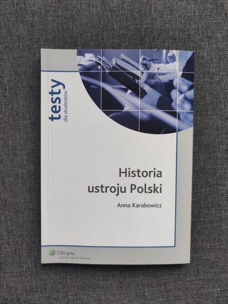 Historia ustroju Polski testy