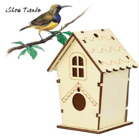 Casinha linda para passarinhos...